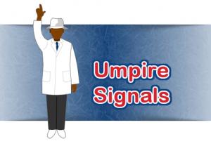 Umpire Signals